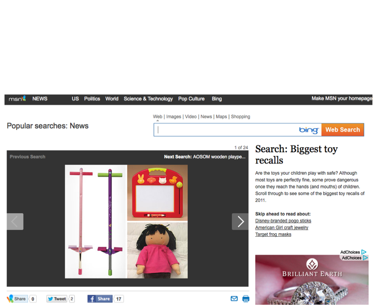 Biggest Toy Recalls - MSN.com