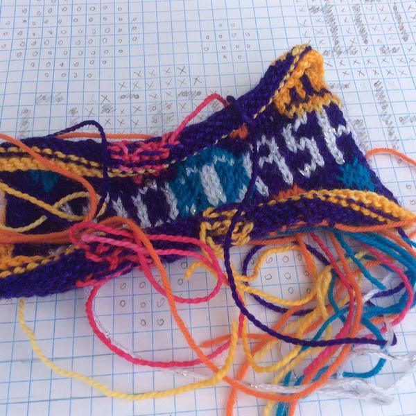 Hand Knit Cool Cash by Ilga Leja