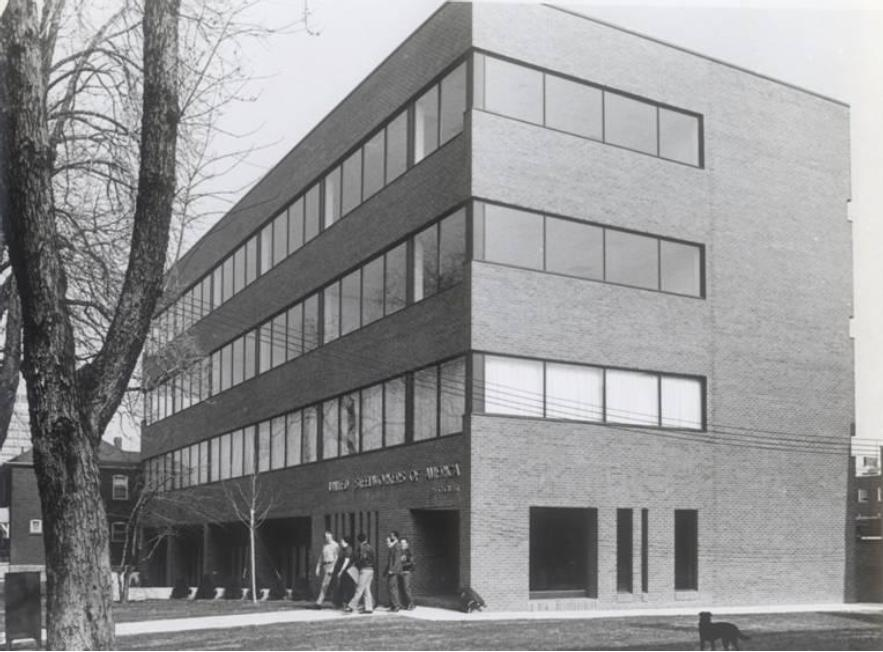 1970s, before the addition of the extension which housed an elevator