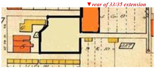"[Goad""s 1924 plan, retouched to show changes made by 1947]"