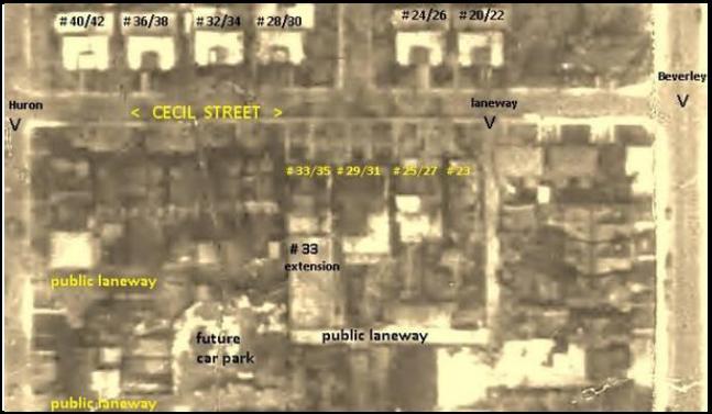 1947 aerial photo: