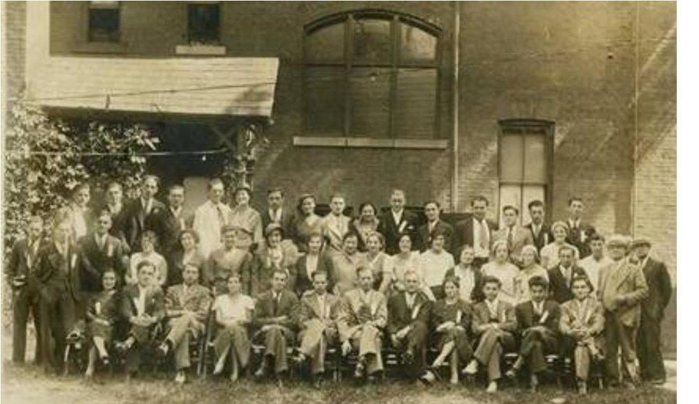 1932 – Delegates to the first Ontario Young Judaea Conference, at the Zionist Institute, 16 Cecil/ 206 Beverley