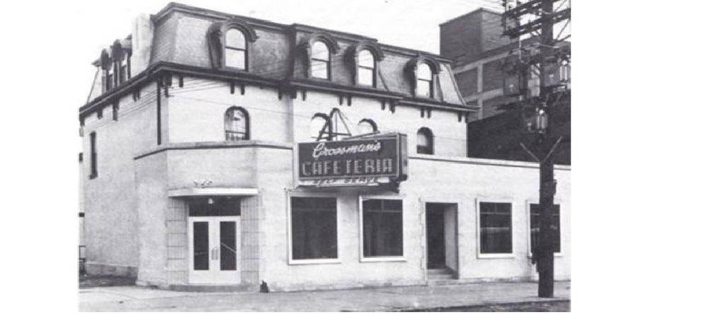 Grossman's Cafeteria in 1952