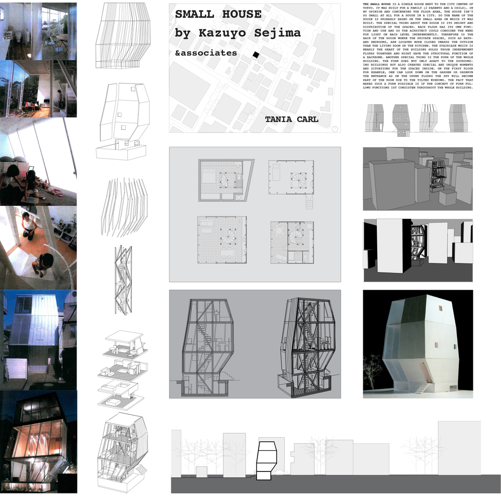 Small House, Kazuyo Seijima, Tania Carl, Arch 124A, UC Berkeley