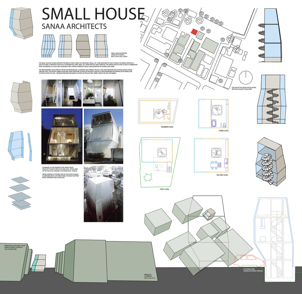 Small House, Sejima, Tania Carl, Arch 124A, UC Berkeley