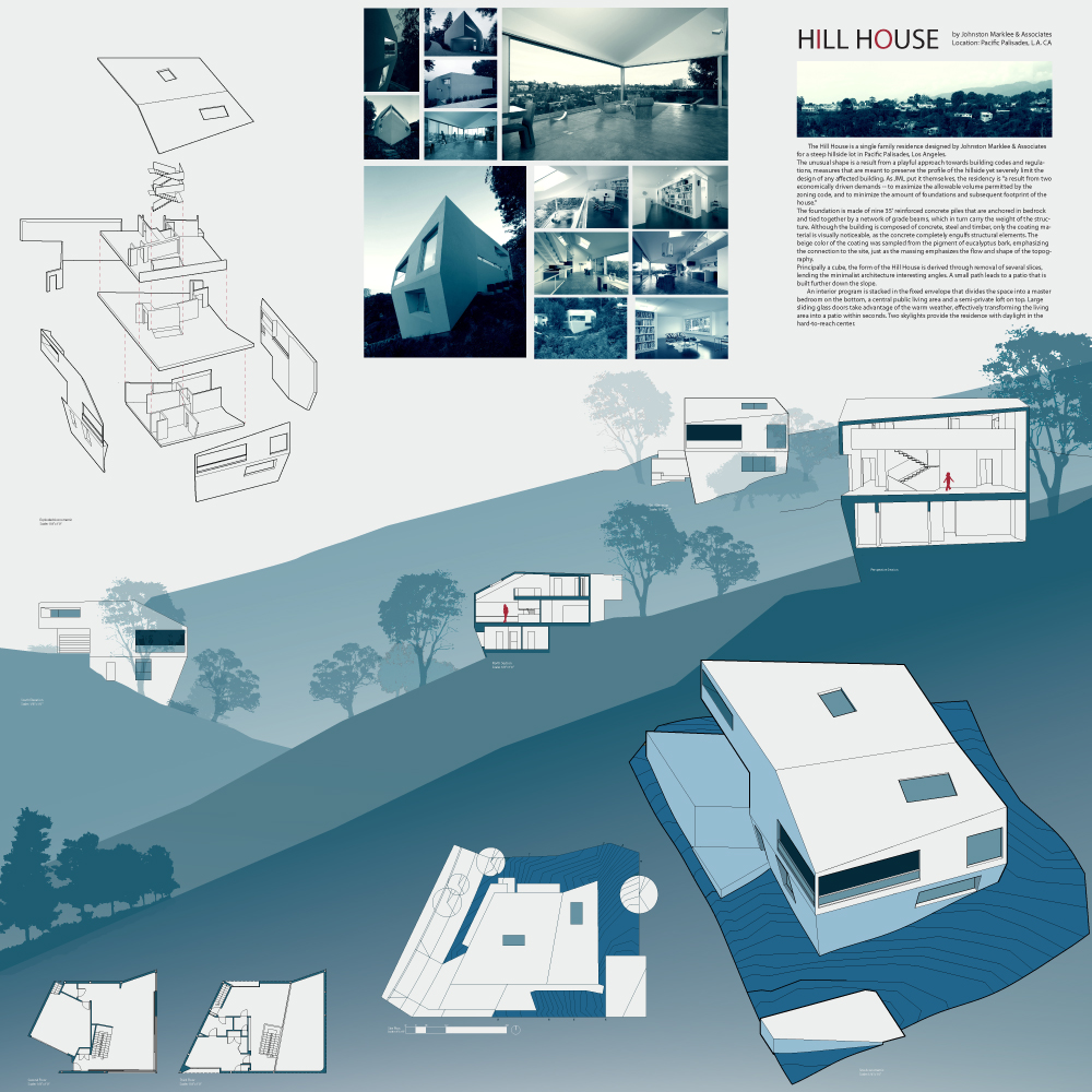 Hill House, Johnston Marklee Architects, Taole Chen, VDM2, CCA