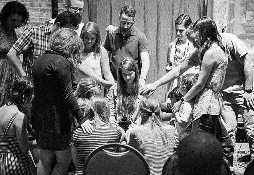 Prayer - Prayer is an integral part to any gathering of believers. Each Sunday, prayer is a part of what we do during the Worship Service. We also take time before service to gather to prayer. At 9:30 am inside Work Play Theatre, we gather to pray for our community, for our city, our country, and the world. We pray for one another, and for Holy Spirit to move. Join us for this 30mins of pre-service prayer each Sunday.