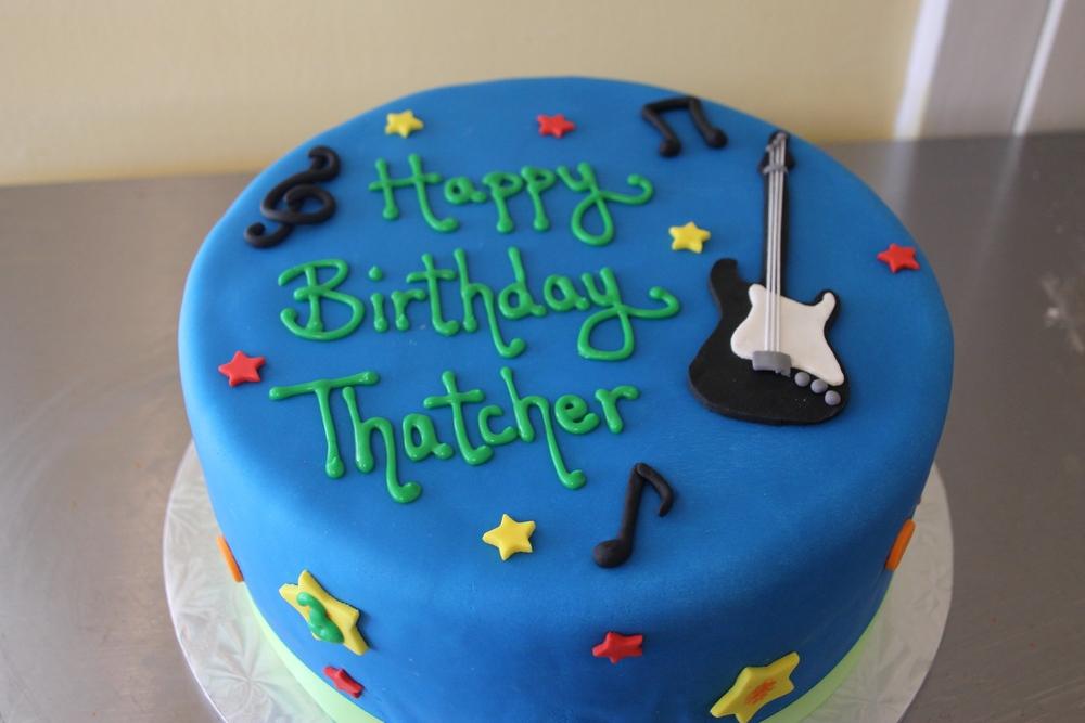 Rock Star Birthday Cake Lafields Cakes Catering