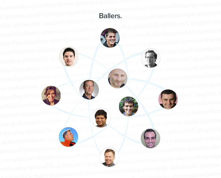 "Calling your influencer list ""ballers"" is awesome, but also not mandatory"