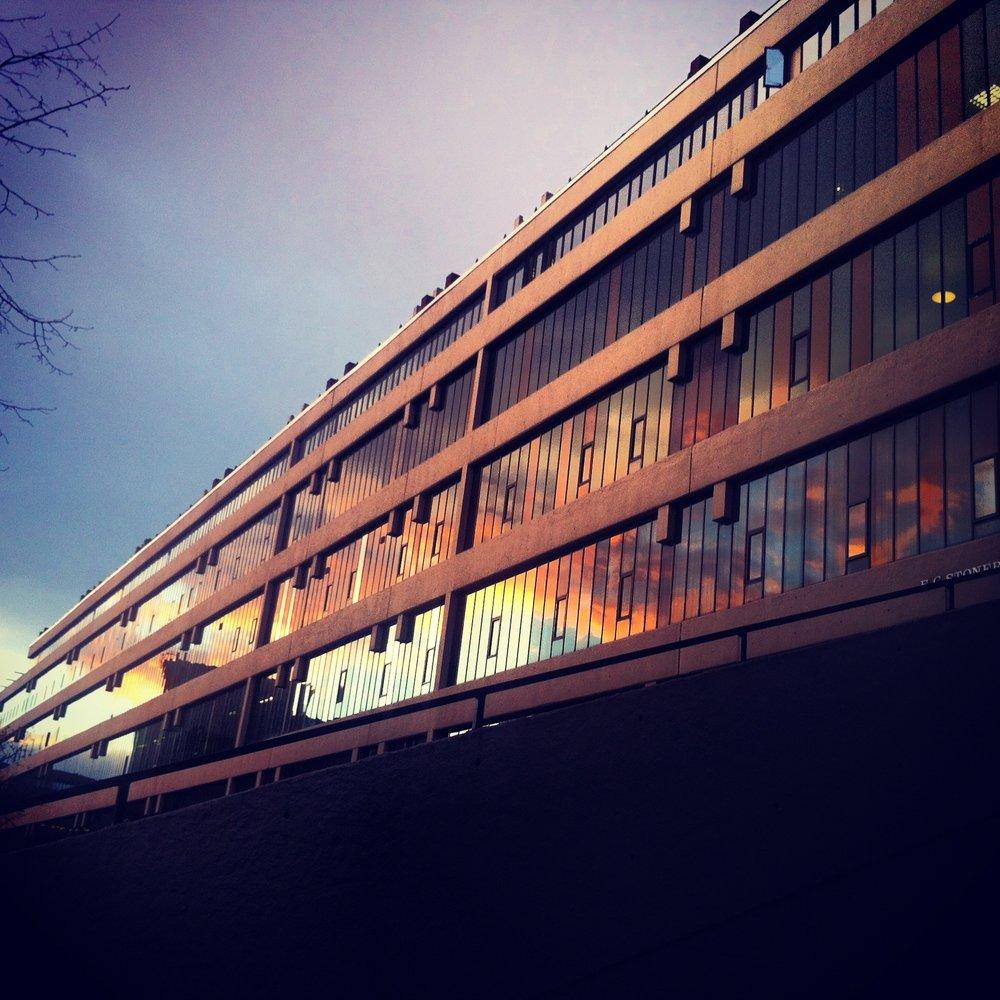 Leeds University EC Stoner Building (photo: Matthew Noah Smith)