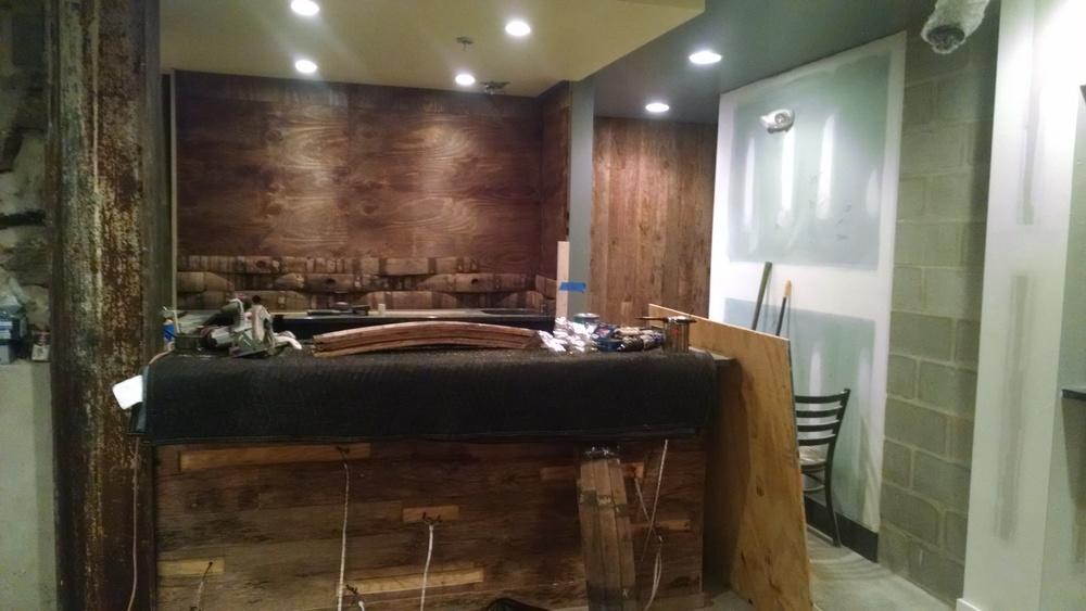 Back Bar In Center City Philadelphia Cooperage Cabinets