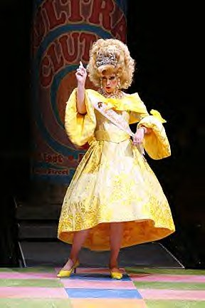 "Deb as Velma Von Tussle in ""Hairspray""."