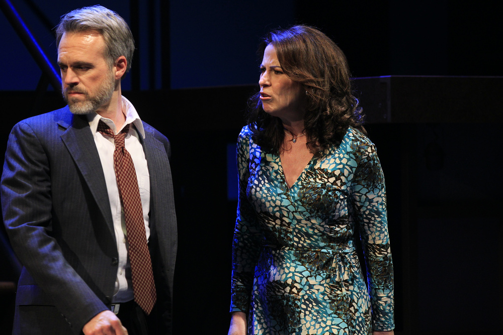 "Jonathan Rayson and Deb Lyons in ""Next to Normal"" at Arkansas Rep."
