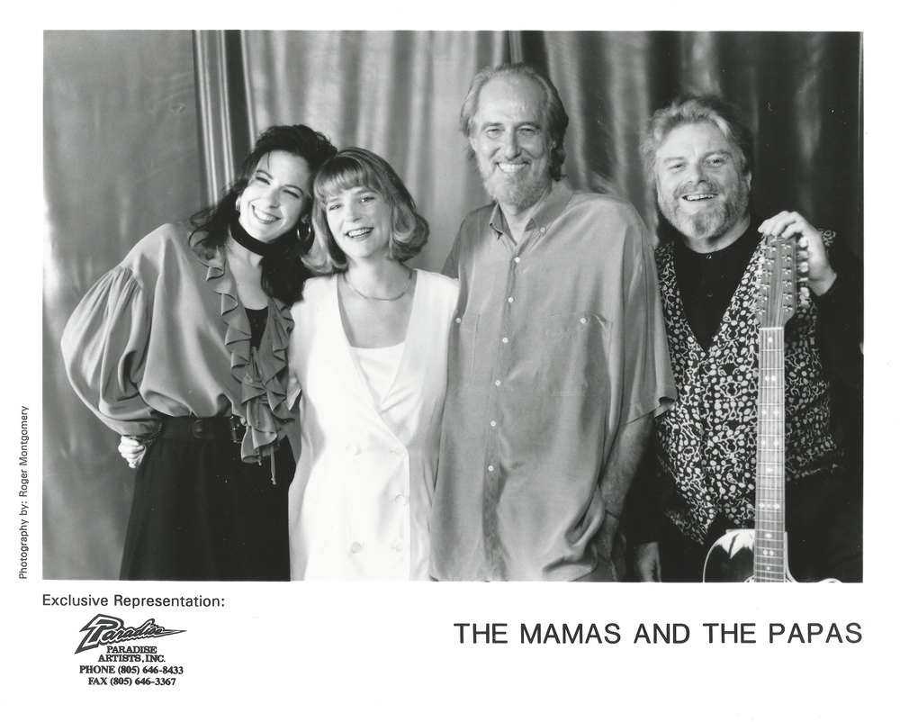 With Lisa Brescia, John Phillips and Scott McKenzie.  The Mamas & The Papas