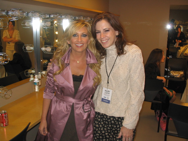 backstage with Lee Ann Womack