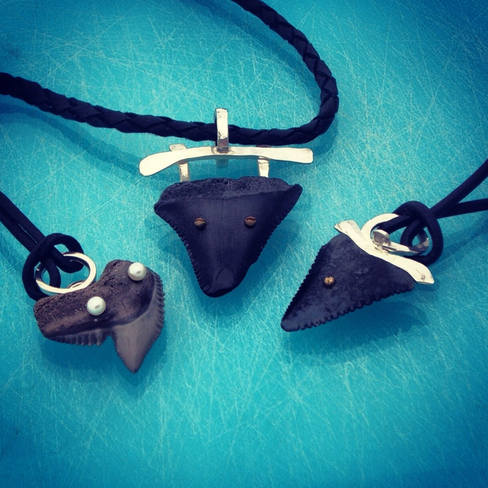 Shark Teeth Pendants