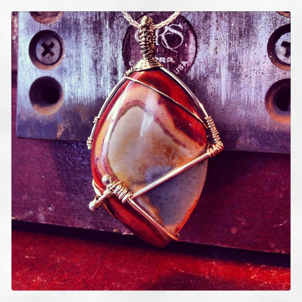 Wire Wrapped Non-Pear