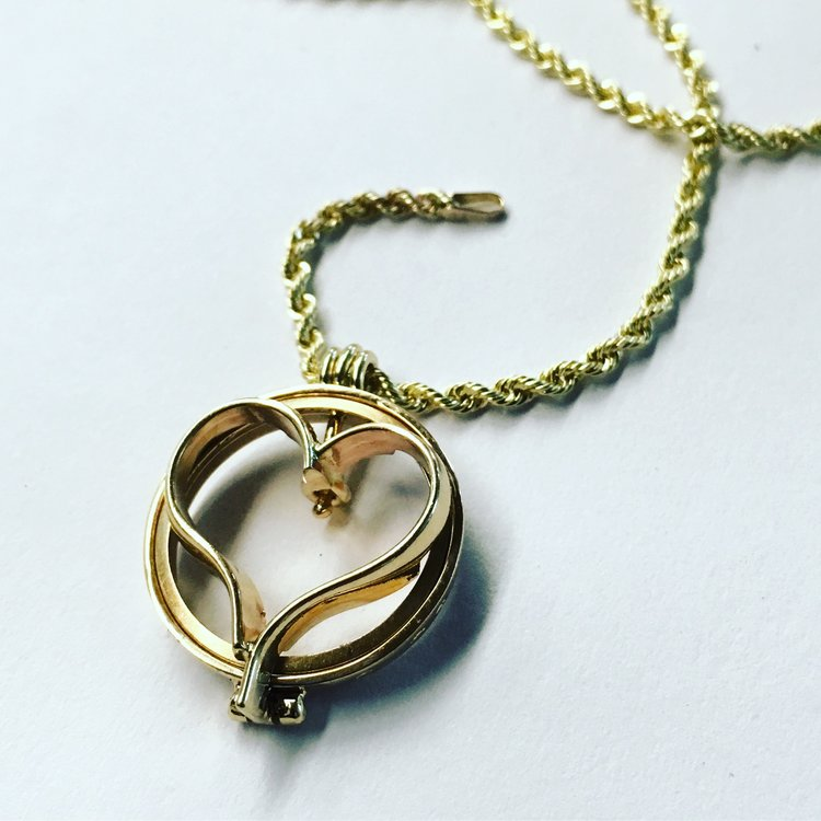 Wedding Band Locket