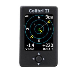 Colibri II FLARM Anzeige