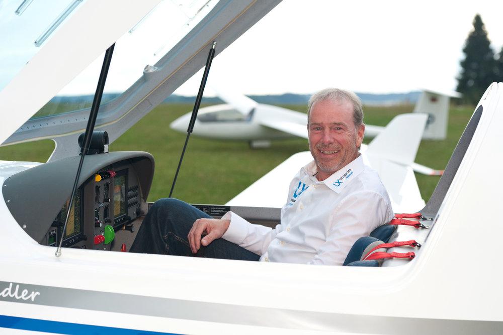 Dieter Schwenk weiss von was er spricht, FI-Segelflug, TMG, UL, CRI, - KRT-2 Nutzer in Segel- und ULbetrieb
