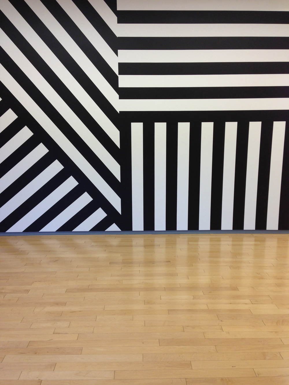 It was seriously hot in the Berkshires on the festival's last day, but one could cool off in the world class art galleries.  This is from the Sol LeWitt drawing retrospective.