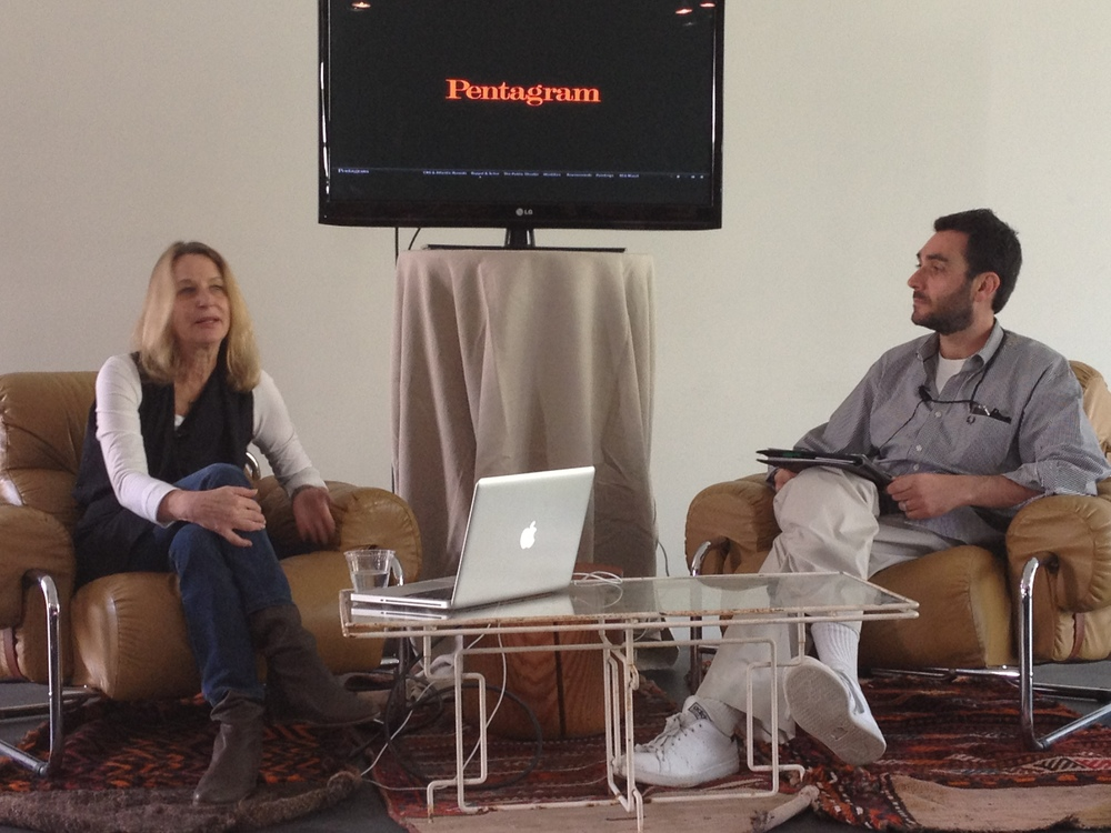 Keynote conversation with Paula Scher.