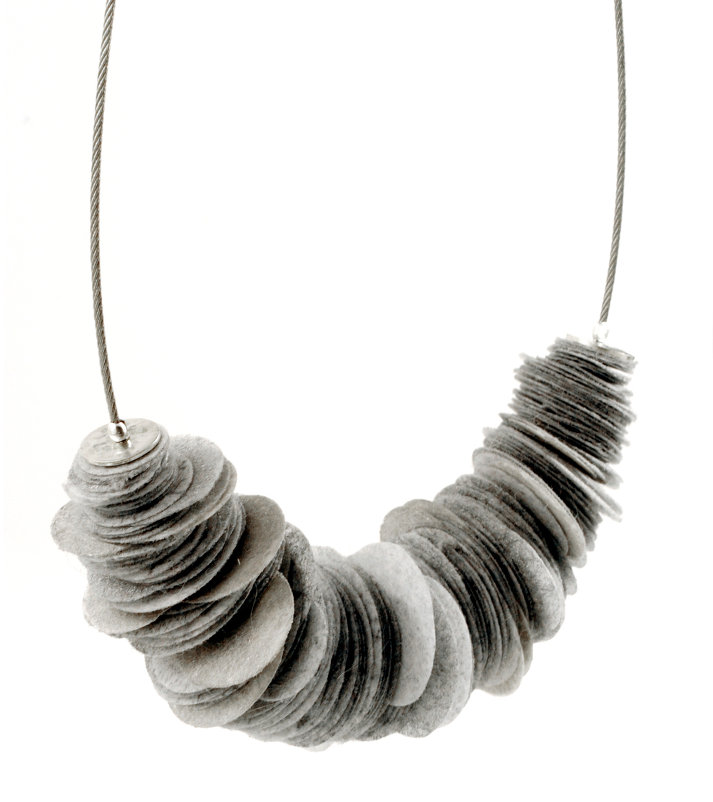 Grey Contina Necklace