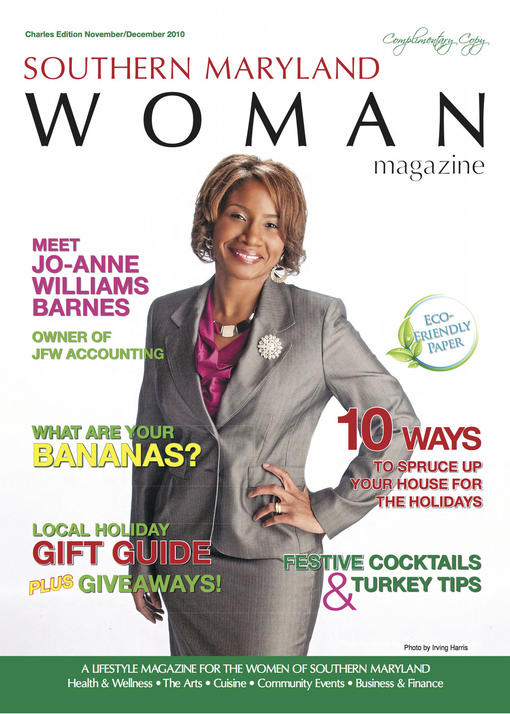 Another cover for Southern Maryland Woman Magazine