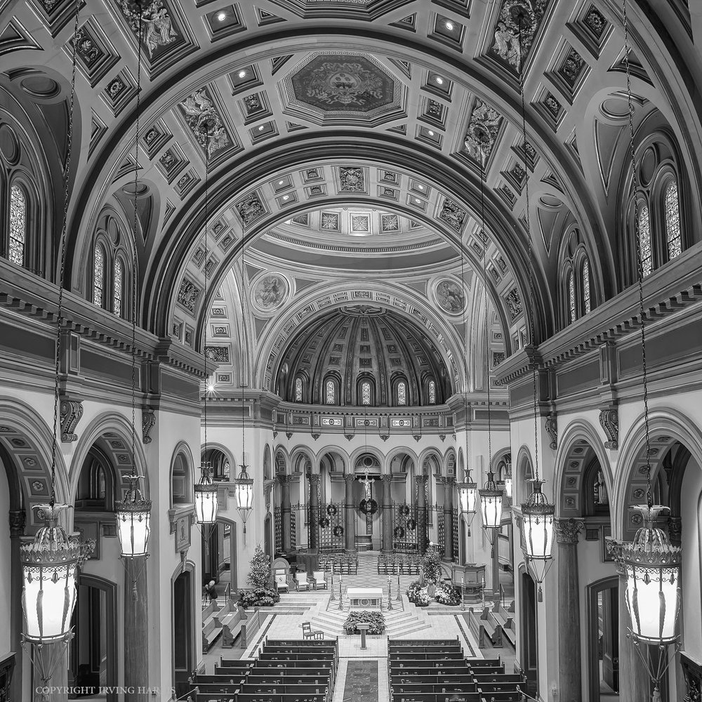 Cathedral Interior Photograph in Richmond Virginia