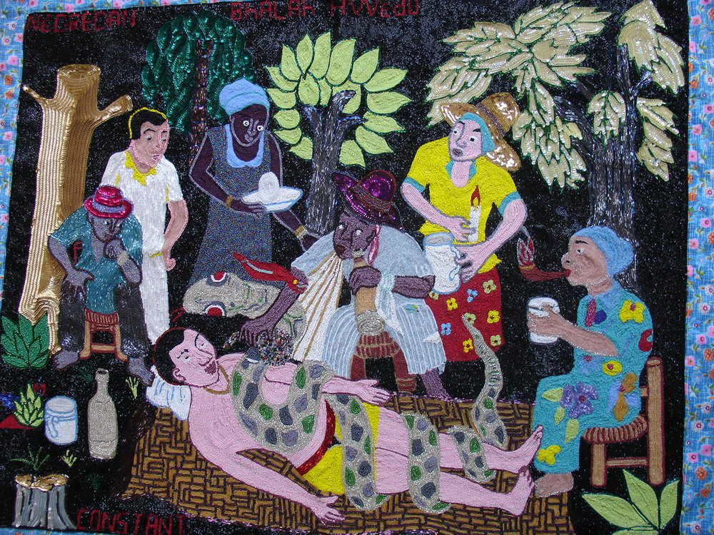 Vodou Healing Ceremony by M. Constant