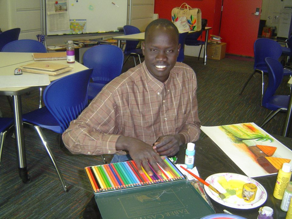 Benson Deng-co author of They Poured Fire on us From the Sky