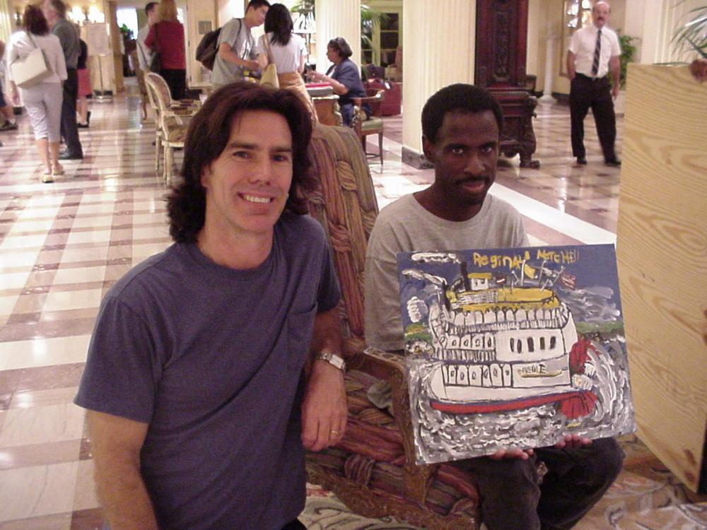 Paul and Reggie Mitchell 2003