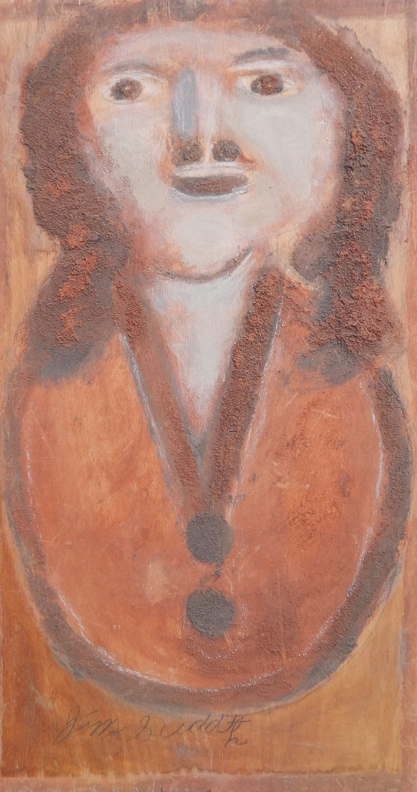 """12.5"""" X 25"""" """"Woman"""" $750 SOLD"""