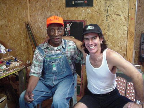 Paul & Jimmy Lee Sudduth in Fayette, Alabama