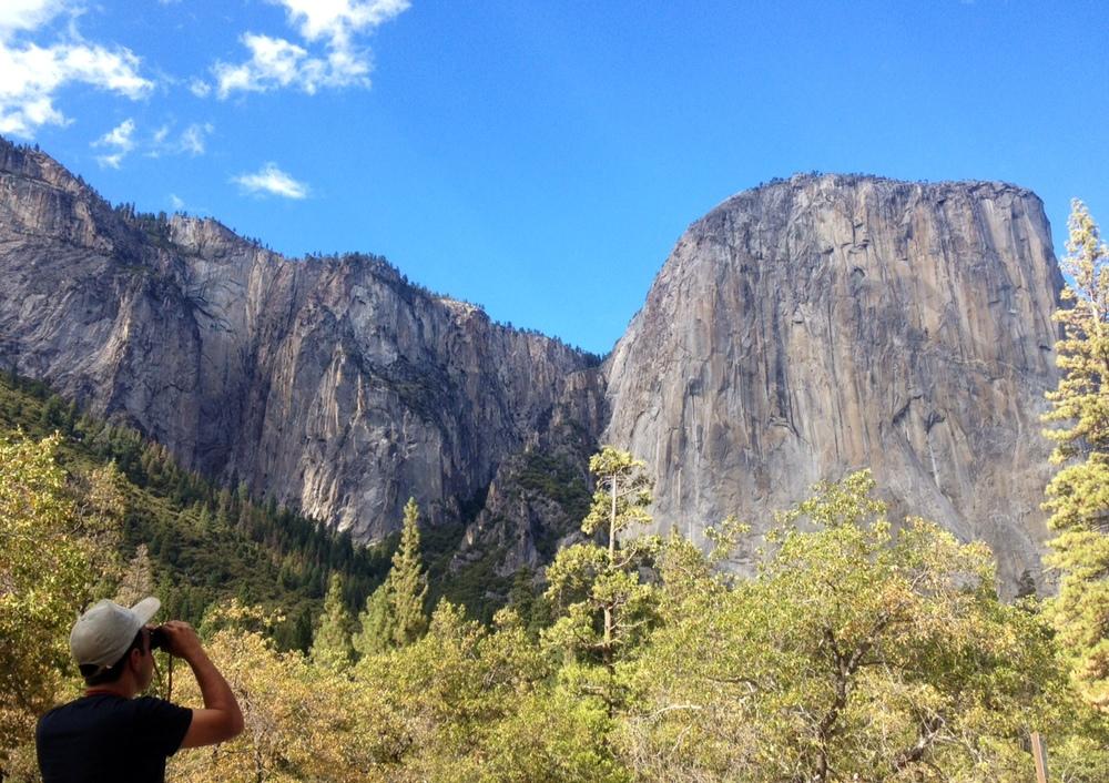 Nick at El Capitan