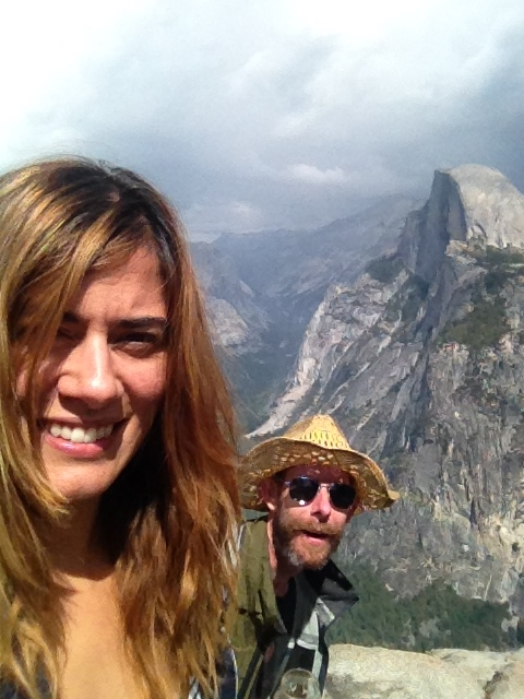 3,214 feet above Yosemite Valley