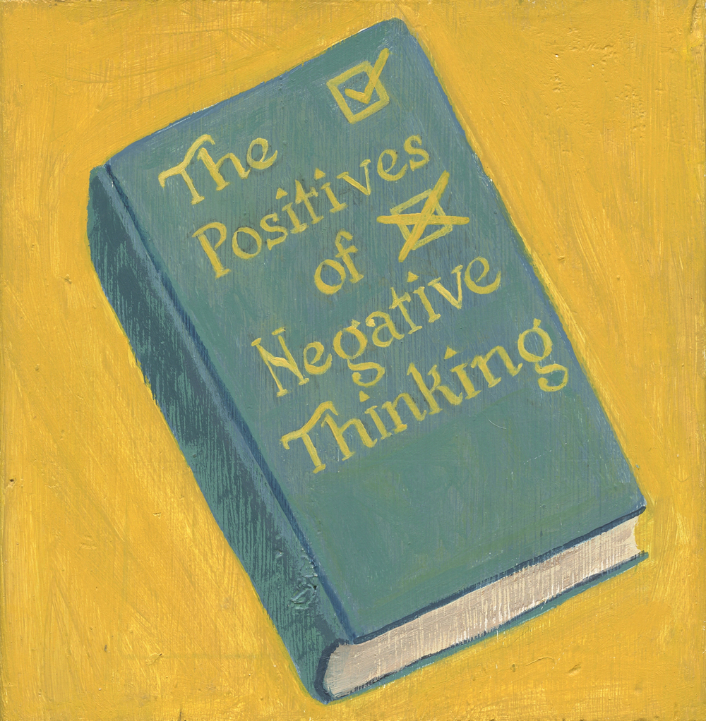 The Positives of Negative Thinking, available in my Etsy shop