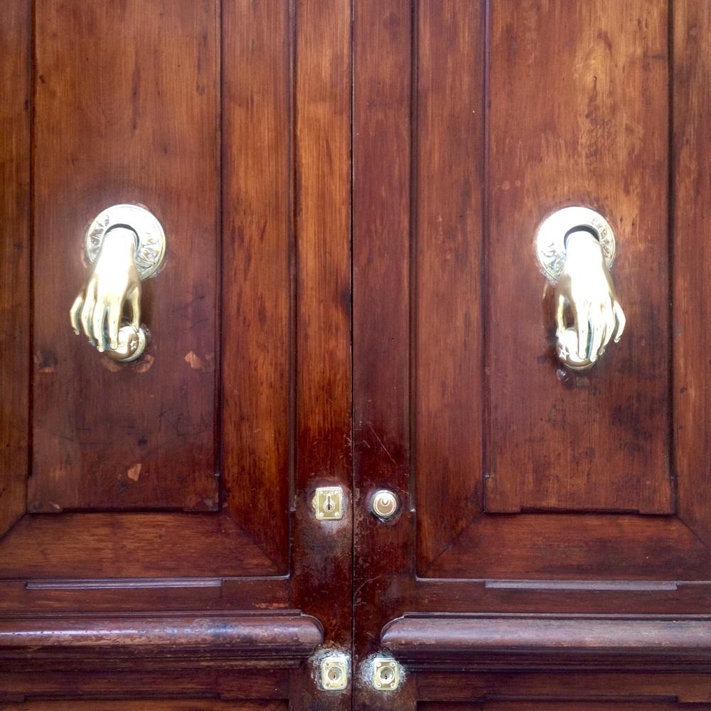 Hand knockers