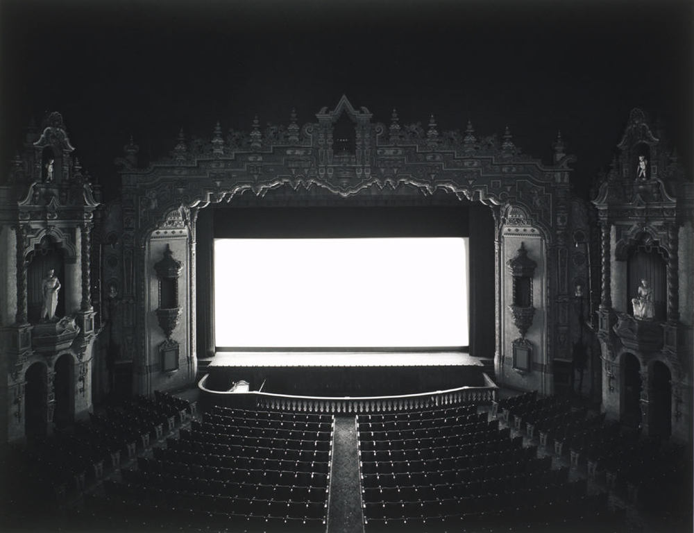 Hiroshi Sugimoto photograph of a theater