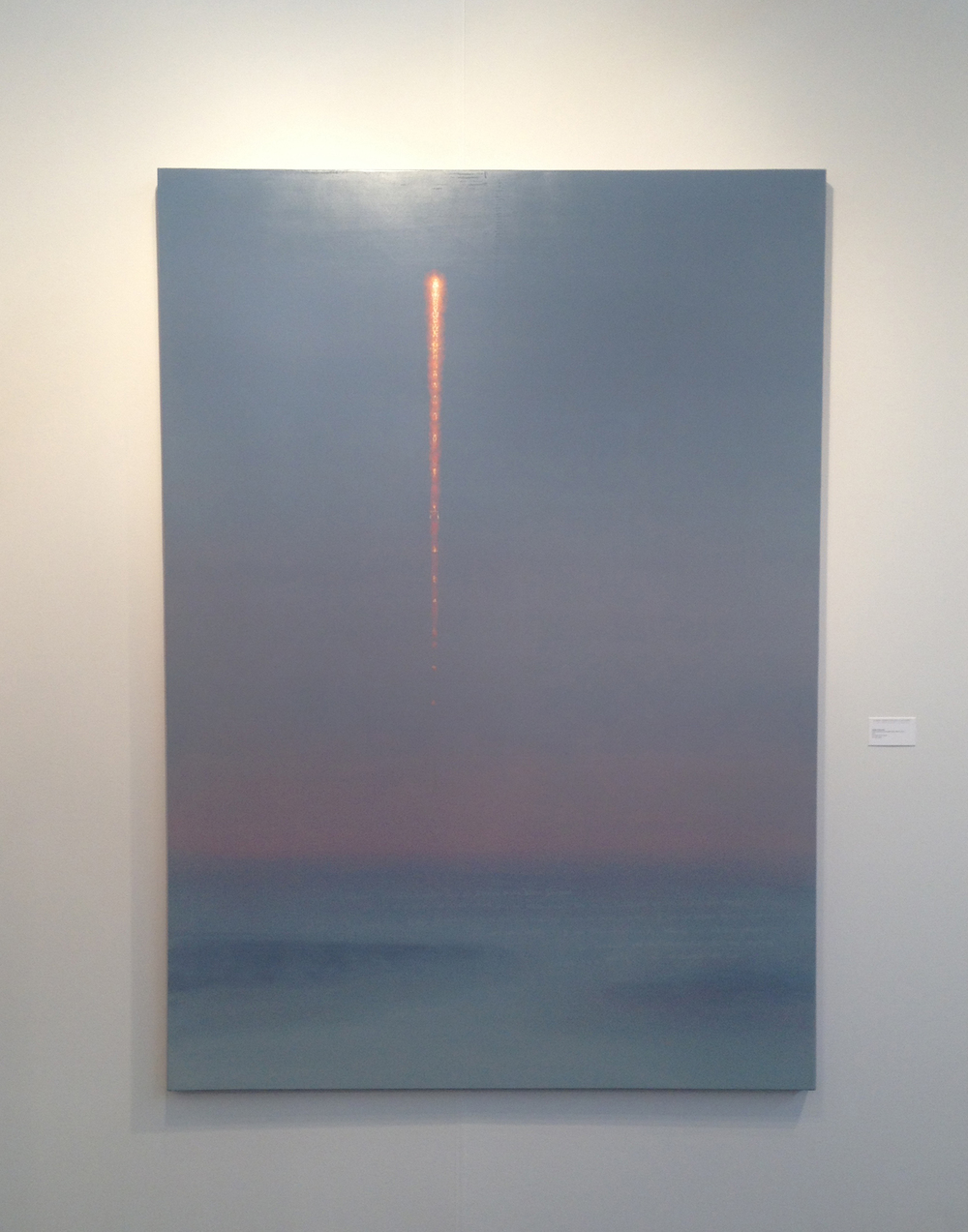 Stephen Hannock, titled Paul's Rocket at First Light