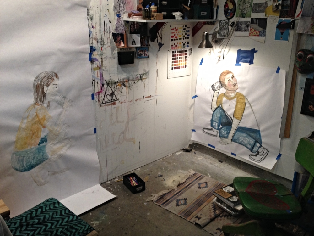Anabella's studio