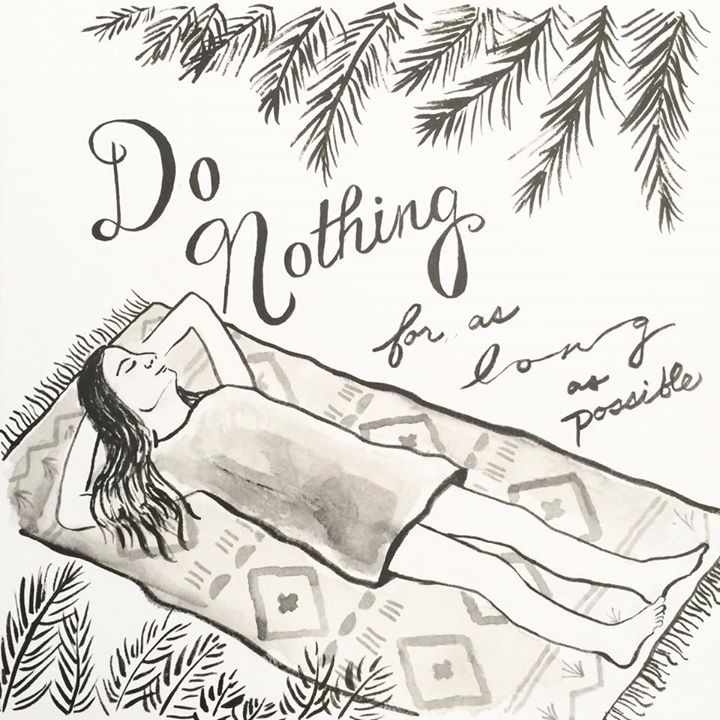 Day 31 Do nothing for as long as possible