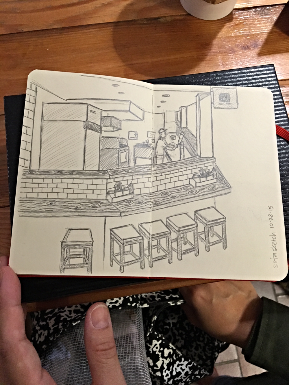 Nancy Ahn  drew  Konjoe Tei Ramen & Izakaya