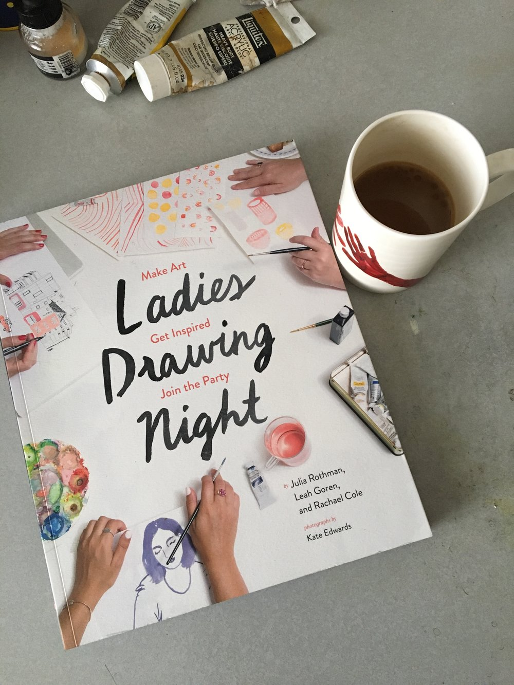 Ladies Drawing Night Book.JPG