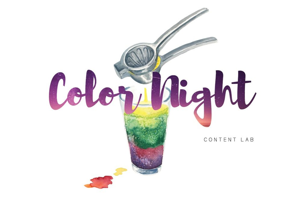 Color Night for Content Magazine