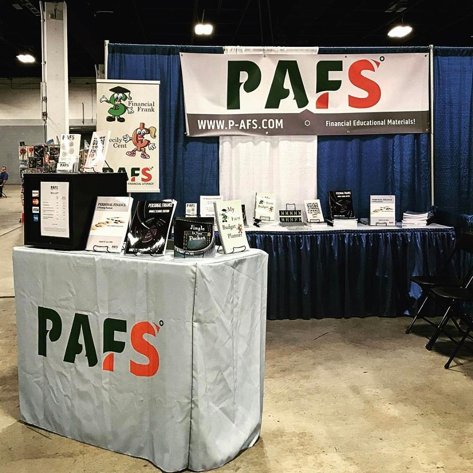 Our Exhibitor Booth at the Southeast Homeschool Convention