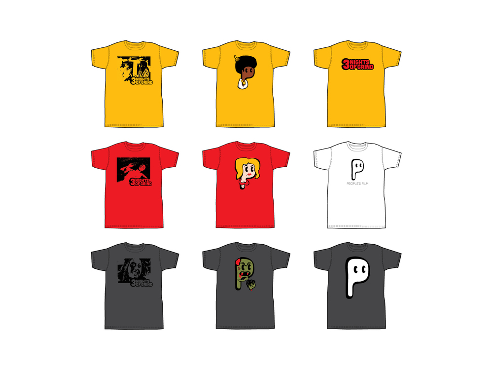 People's Film Shirts
