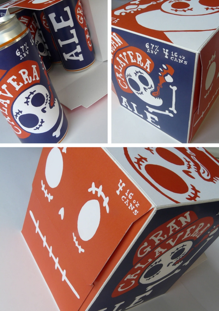 Gran Calavera Beer Packaging