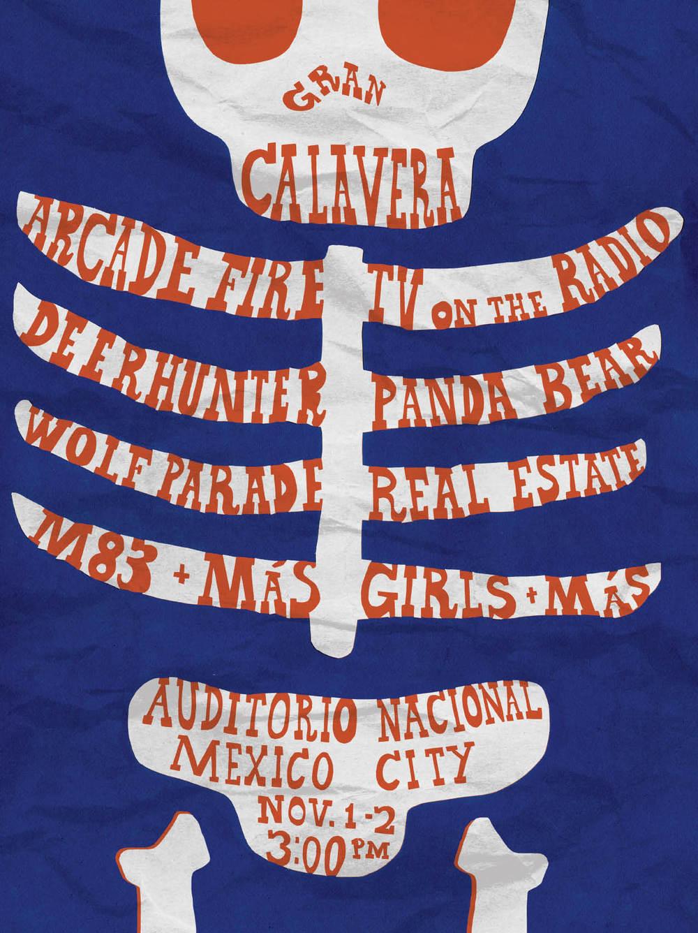 Gran Calavera Poster