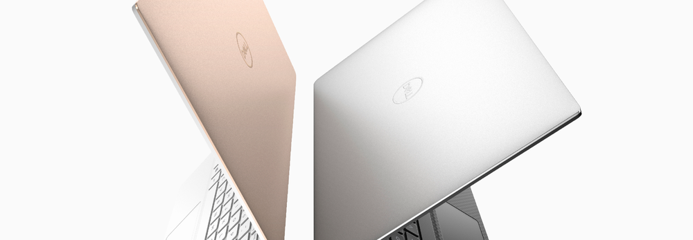 We're finally starting to see the new logo show up on new laptops. (We didn't design the actual laptops.)